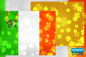 St Patricks Day Backdrops