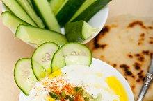 Maast o Khiar Arab cucumber goat yogurt salad 021.jpg