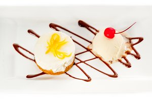 lemon mousse with vanilla ice cream 02.jpg