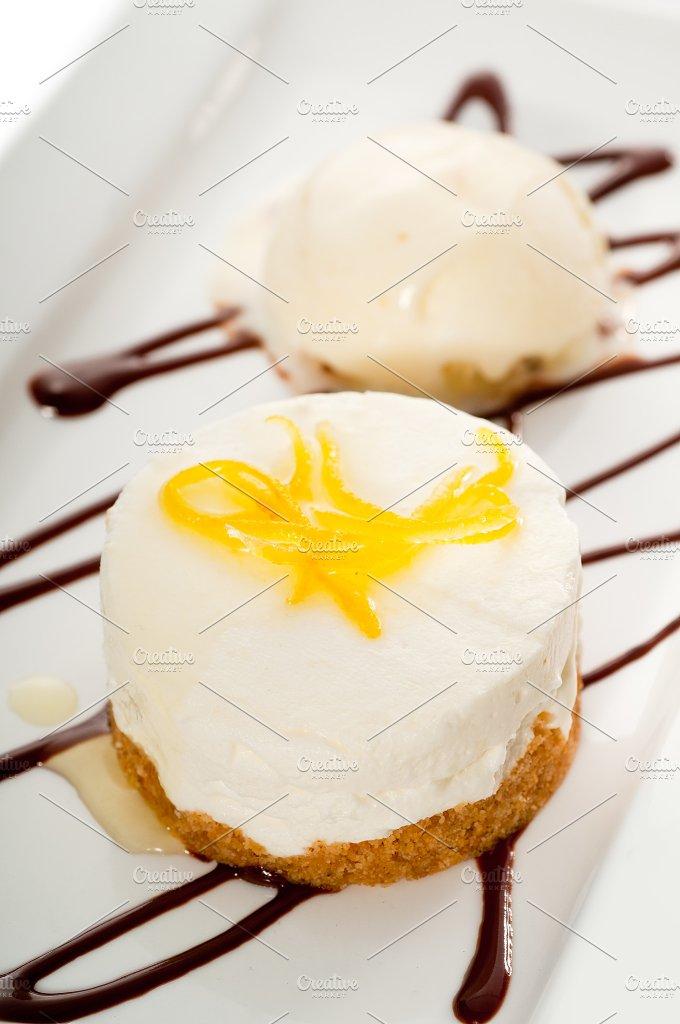 lemon mousse with vanilla ice cream 06.jpg - Food & Drink