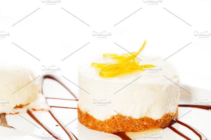 lemon mousse with vanilla ice cream 08.jpg - Food & Drink