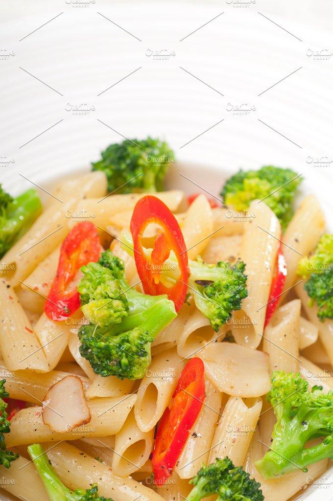 Italian penne pasta with broccoli 29.jpg - Food & Drink