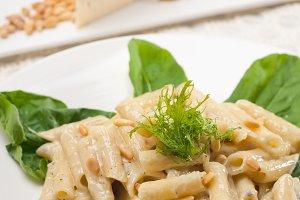 Italian pasta penne gorgonzola  and pine nut 10.jpg