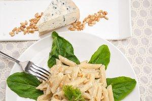 Italian pasta penne gorgonzola  and pine nut 14.jpg
