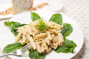 Italian pasta penne gorgonzola  and pine nut 17.jpg