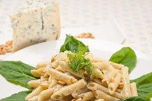 Italian pasta penne gorgonzola  and pine nut 21.jpg