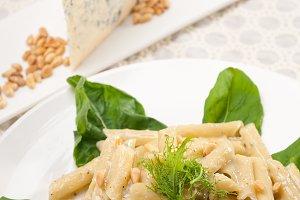 Italian pasta penne gorgonzola  and pine nut 22.jpg