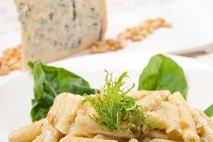 Italian pasta penne gorgonzola  and pine nut 25.jpg