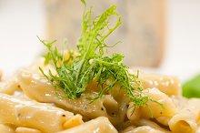 Italian pasta penne gorgonzola  and pine nut 29.jpg