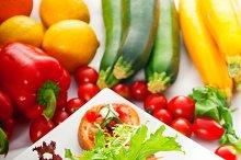 Italian bruschetta and fresh salad 02.jpg