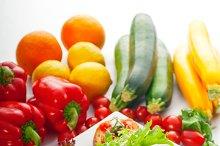 Italian bruschetta and fresh salad 01.jpg
