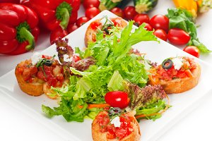 Italian bruschetta and fresh salad 03.jpg