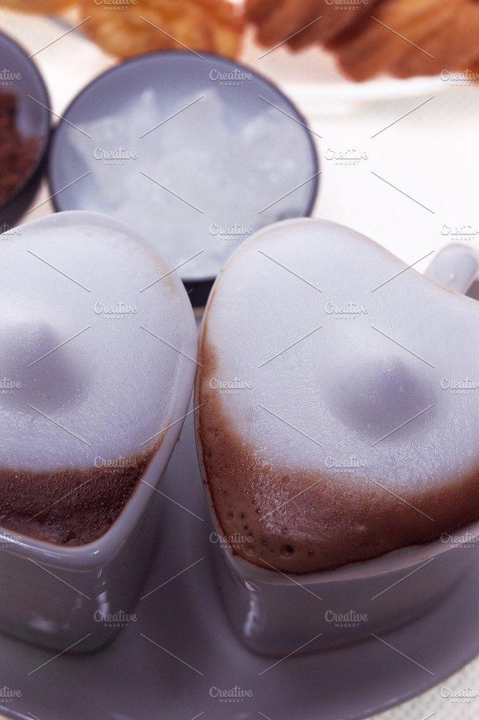 heart shaped cups of coffe16.jpg - Food & Drink