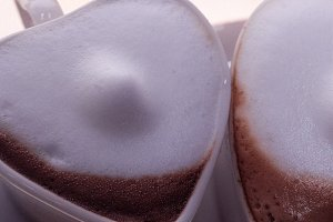 heart shaped cups of coffe 03.jpg