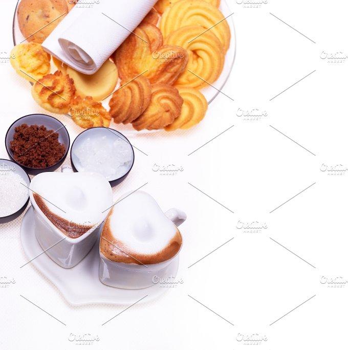 heart shaped cups of coffe14.jpg - Food & Drink