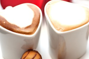 heart cookies and cappuccino  6.jpg