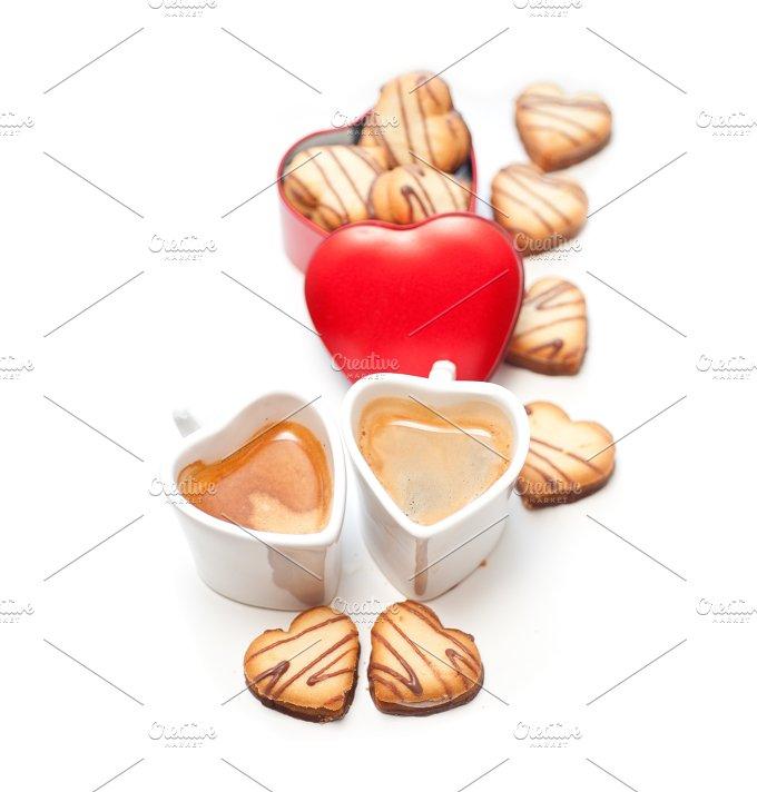 heart cookies and coffee 16.jpg - Food & Drink