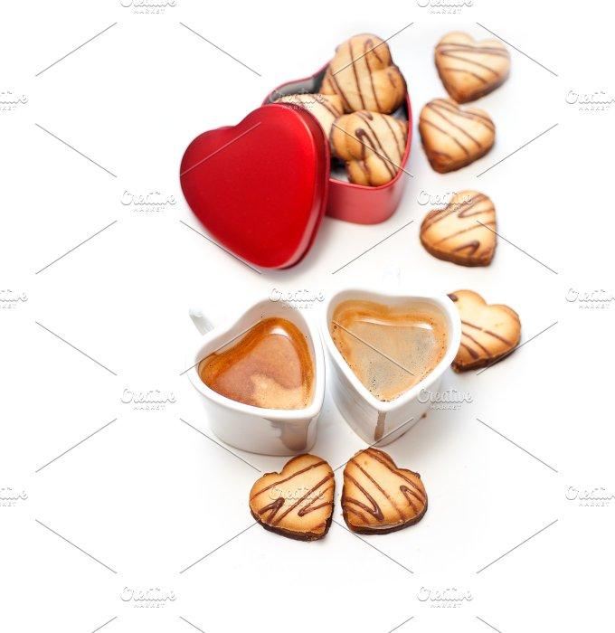 heart cookies and coffee 17.jpg - Food & Drink