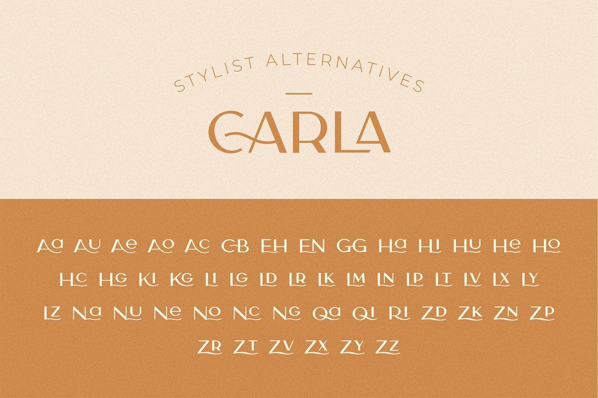 Carla Sans -Elegant Typeface in Sans-Serif Fonts - product preview 8