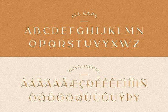 Carla Sans -Elegant Typeface in Sans-Serif Fonts - product preview 1