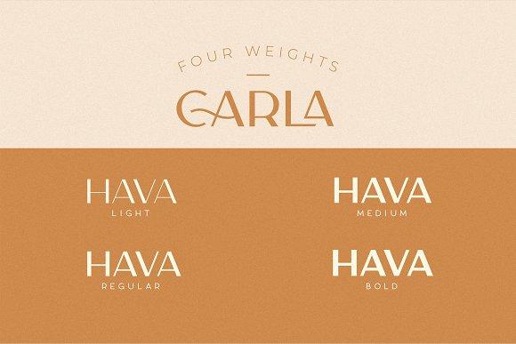 Carla Sans -Elegant Typeface in Sans-Serif Fonts - product preview 2