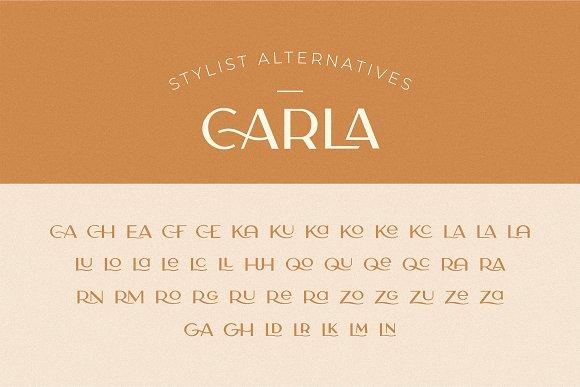 Carla Sans -Elegant Typeface in Sans-Serif Fonts - product preview 3