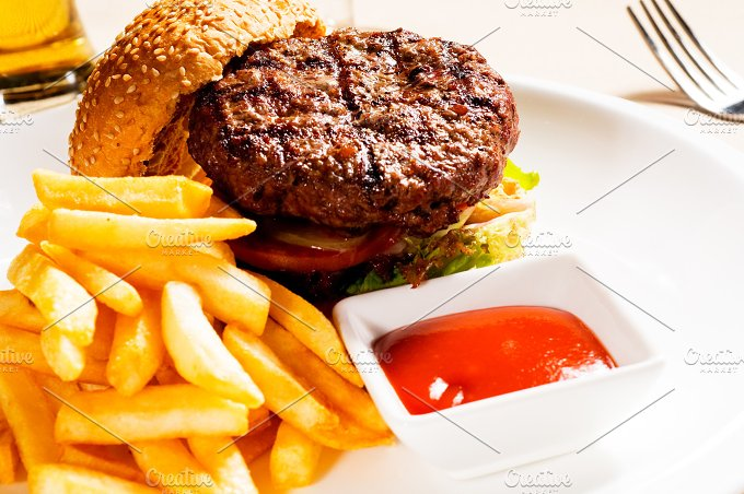 hamburger sandwich 07.jpg - Food & Drink