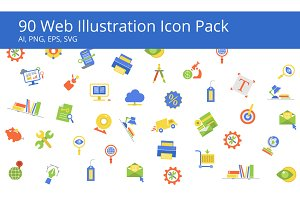 Icon Illustration Set
