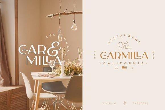 Carla Sans -Elegant Typeface in Sans-Serif Fonts - product preview 9