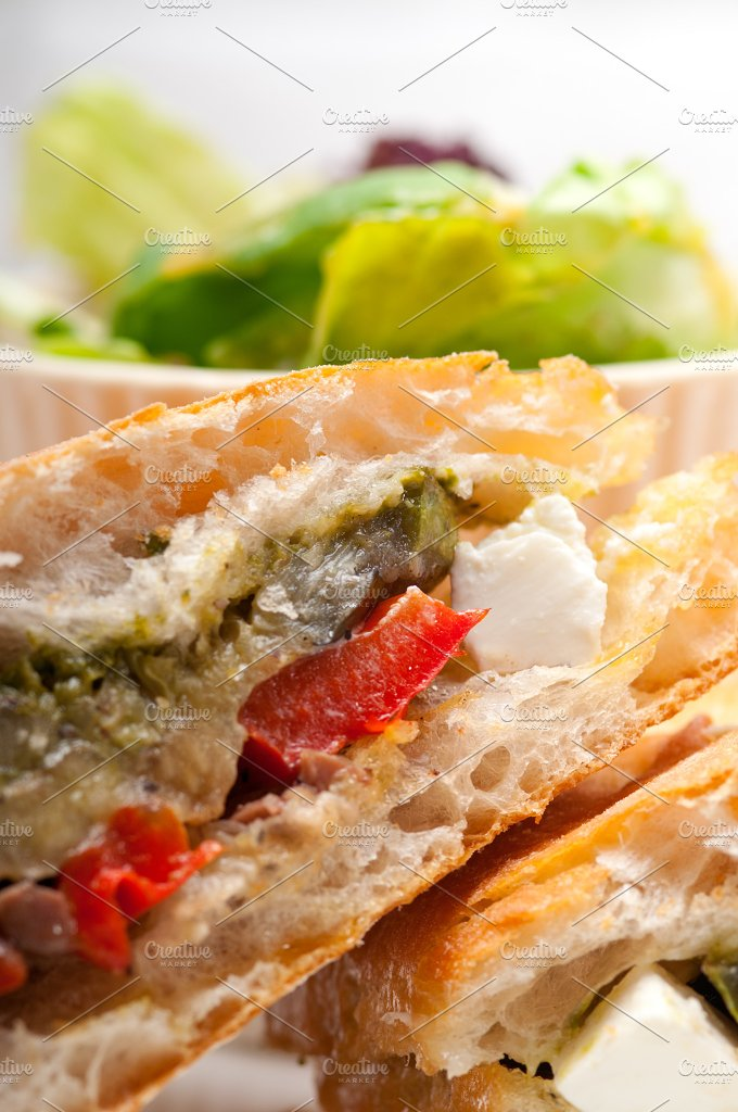grilled vegetables and feta ciabatta sandwich 18.jpg - Food & Drink