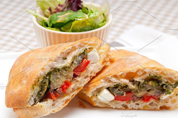 grilled vegetables and feta ciabatta sandwich 17.jpg - Food & Drink