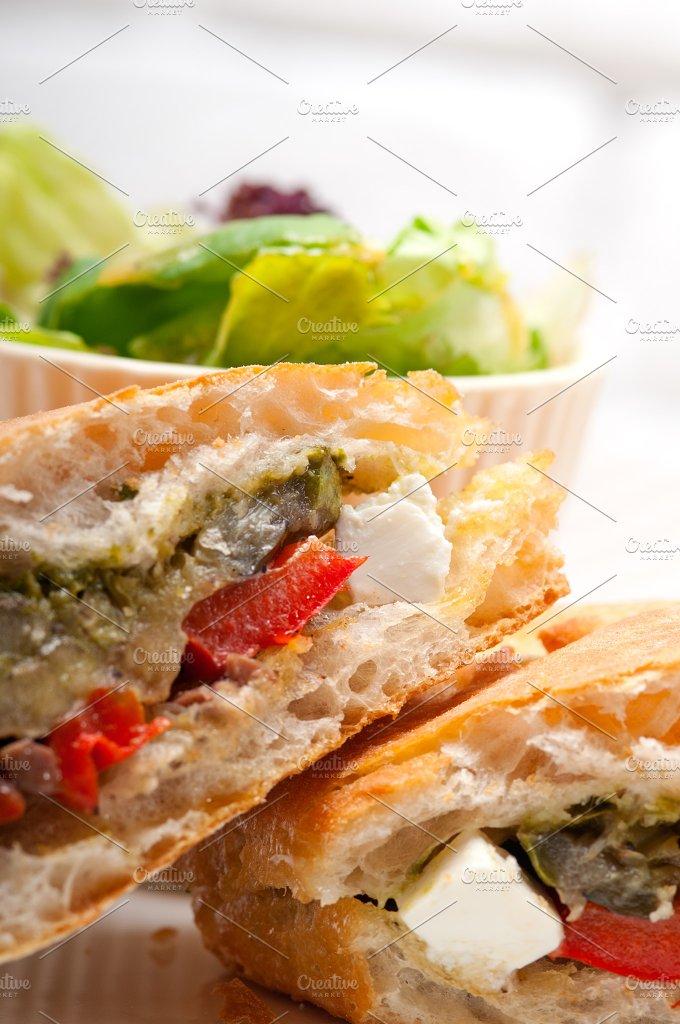 grilled vegetables and feta ciabatta sandwich 20.jpg - Food & Drink