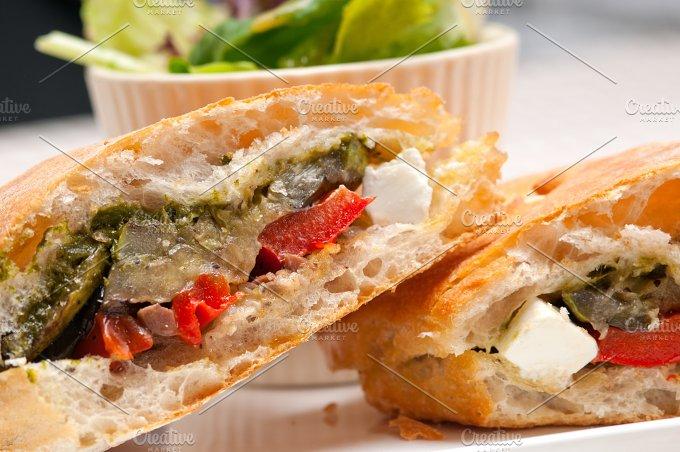 grilled vegetables and feta ciabatta sandwich 25.jpg - Food & Drink