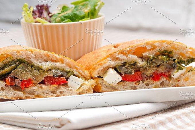 grilled vegetables and feta ciabatta sandwich 32.jpg - Food & Drink