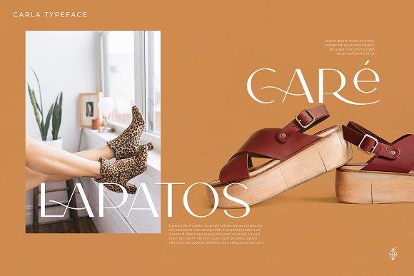 Carla Sans -Elegant Typeface in Sans-Serif Fonts - product preview 10