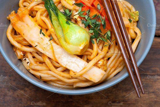 hand pulled ramen noodles and vegetables 037.jpg - Food & Drink