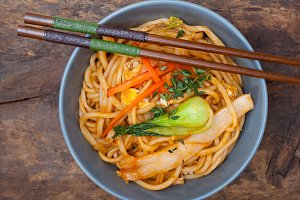 hand pulled ramen noodles and vegetables 018.jpg