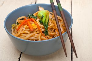 hand pulled ramen noodles and vegetables 012.jpg
