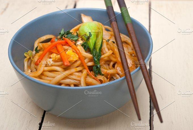 hand pulled ramen noodles and vegetables 012.jpg - Food & Drink