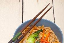 hand pulled ramen noodles and vegetables 002.jpg