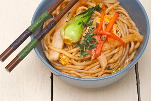 hand pulled ramen noodles and vegetables 002.jpg