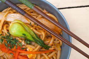hand pulled ramen noodles and vegetables 010.jpg