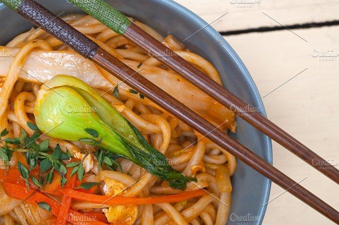 hand pulled ramen noodles and vegetables 010.jpg - Food & Drink