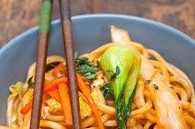 hand pulled ramen noodles and vegetables 027.jpg