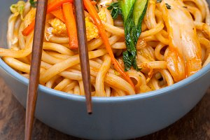 hand pulled ramen noodles and vegetables 027.jpg