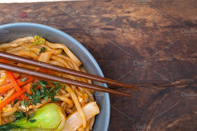 hand pulled ramen noodles and vegetables 026.jpg - Food & Drink