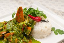 green curry chicken and vegetable stew with rice 05.jpg