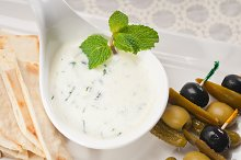 Greek Tzatziki yogurt dip 02.jpg