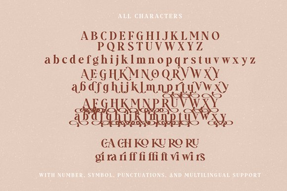 Gravity Wanders - Stylish Bold Serif in Serif Fonts - product preview 11