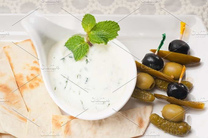 Greek Tzatziki yogurt dip 03.jpg - Food & Drink